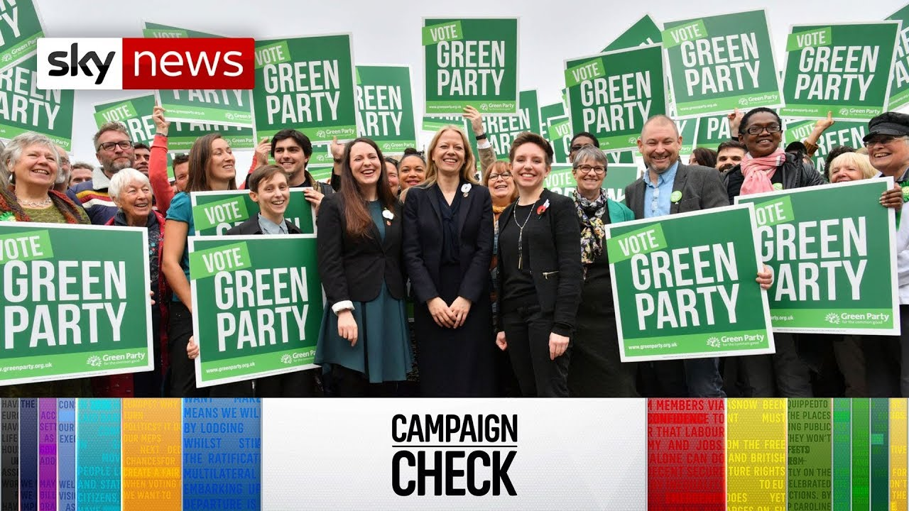 General Election Campaign Check: Green Party manifesto