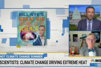 Fear Fest: Bill Nye And MSNBC Scare Viewers With Cringey Weather Porn Segment